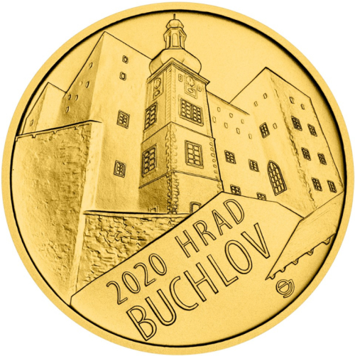 2020_5000_Kc_Hrad_Buchlov_Au_mince_bk_revers