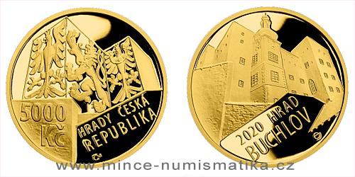 5000 Kč - hrad Buchlov 2020