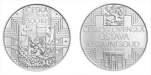 2020_500_Kc_Ceskoslovenska_ustava_Ag_bezna_kvalita