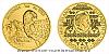 Zlatá uncová investiční mince Orel 2020