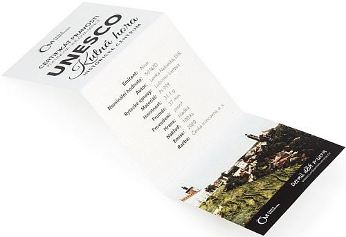 2020_50_NZD_Pt_Kutna_Hora_proof_karta