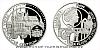 Platinová uncová mince UNESCO - Praha - historické centrum