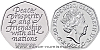 2020 - 50 pencí -  Pamětní mince Brexit - odchod z Evropské unie