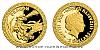 Zlatá mince Bájní tvorové - Drak