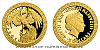 Zlatá mince Bájní tvorové - Fénix