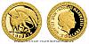 Zlatá mince Bájní tvorové - Gryf