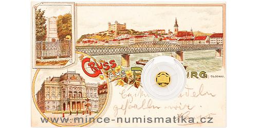 Zlatá mince Bratislava - Slovenské národní divadlo