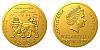 Zlatá 1/25 Oz investiční mince Český lev 2020