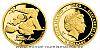 Zlatá mince Čtyřlístek - Fifinka
