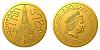 Zlatá mince Praha - Petřín