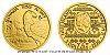Zlatá 1/25 Oz investiční mince Orel 2020