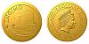 Zlatá mince Znojmo - Rotunda sv. Kateřiny