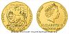 Zlatá kilogramová investiční mince Český lev 2020