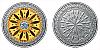 Stříbrná medaile Mandala - Finanční prosperita