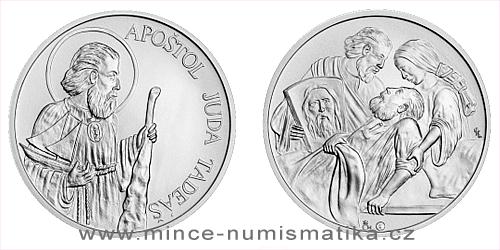 Stříbrná medaile Apoštol Juda Tadeáš