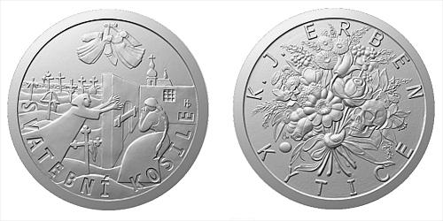 Stříbrná medaile K. J. Erben, Kytice - Svatební košile