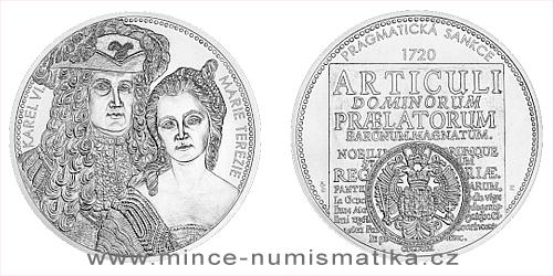 Stříbrná medaile 10 Oz Pragmatická sankce