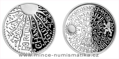 Stříbrná medaile Štěstíčko