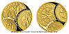 Zlatá půluncová medaile Zahájení ražby jáchymovských tolarů