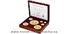 Sada zlatých mincí Český lev 2020 - 1/25, 1/4, 1/2, 1, 5, 10 oz, 1kg