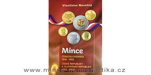2020 - Katalog mincí Československa, ČR a SR 1918 - 2020 (V. Novotný)