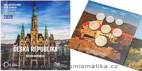 Sada oběžných mincí ČR 2020 - Česká republika