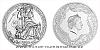 Stříbrná mince Bohyně světa - Frigg