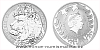 Stříbrná pětiuncová investiční mince Český lev 2021 reverse proof