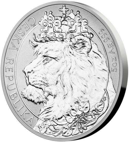 2021_10_NZD_Ag_Cesky_lev_5_Oz_reverse_proof_mince