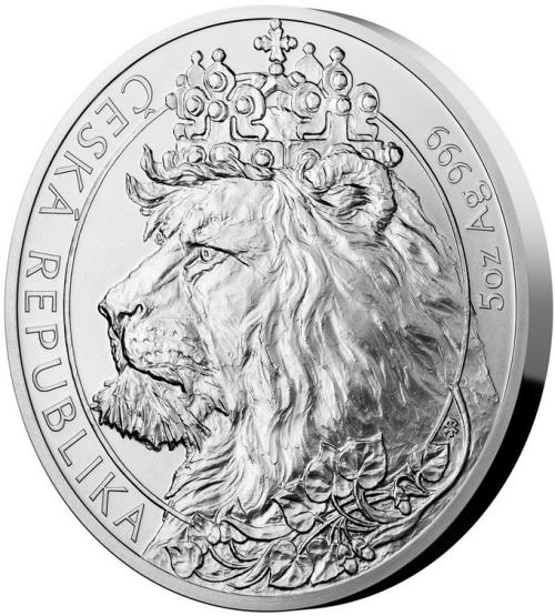 2021_10_NZD_Ag_Cesky_lev_5_Oz_standard_mince