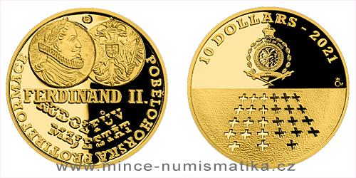 Zlatá mince Staroměstská exekuce - Doba temna