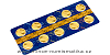Zlatá 1/10 Oz mince Sedm divů starověkého světa - Egyptské pyramidy 10 ks