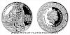 Stříbrná mince Legenda o králi Artušovi - Excalibur a Jezerní paní