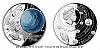 Stříbrná mince Sluneční soustava - Uran