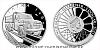 Stříbrná mince Na kolech - Nákladní automobil Tatra 148