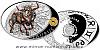 Stříbrná mince Znamení zvěrokruhu - Býk
