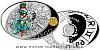 Stříbrná mince Znamení zvěrokruhu - Panna