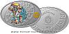 Stříbrná mince Znamení zvěrokruhu - Vodnář