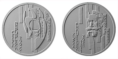 200 Kč - 150. výročí narození - František Kupka