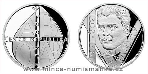 200 Kč - 100. výročí númrtí - Jan Jánský