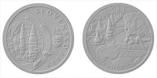 20 € - 100. výročie - Objavenie Demänovskej jaskyne slobody