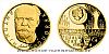 Zlatá půluncová mince Antonín Dvořák