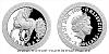 Stříbrná mince Bájní tvorové - Jednorožec