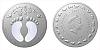 Stříbrná mince Crystal Coin - Narození dítěte 2021