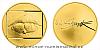 Zlatá dvouuncová medaile Jan Saudek - Marie č.1