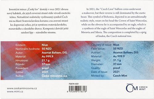 2021_50_NZD_Au_Cesky_lev_1_Oz_proof_cislovano_3