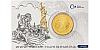 Zlatá uncová investiční mince Tolar - Česká republika 2021 číslovaný obal