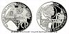 Platinová uncová mince UNESCO - Kladruby nad Labem - Národní hřebčín