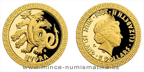 Zlatá mince Bájní tvorové - Hydra