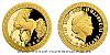 Zlatá mince Bájní tvorové - Jednorožec